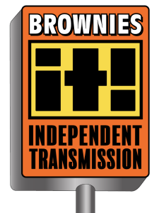 Brownies Independent Transmission Shop Logo